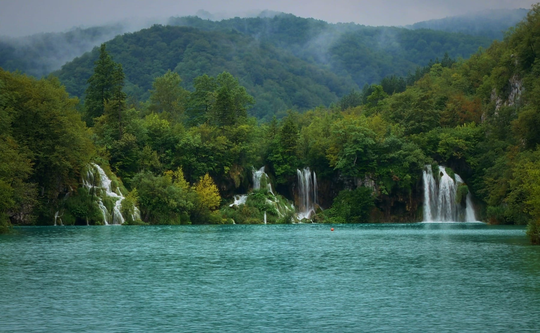Award of the most waterfalls goes to Plitvice