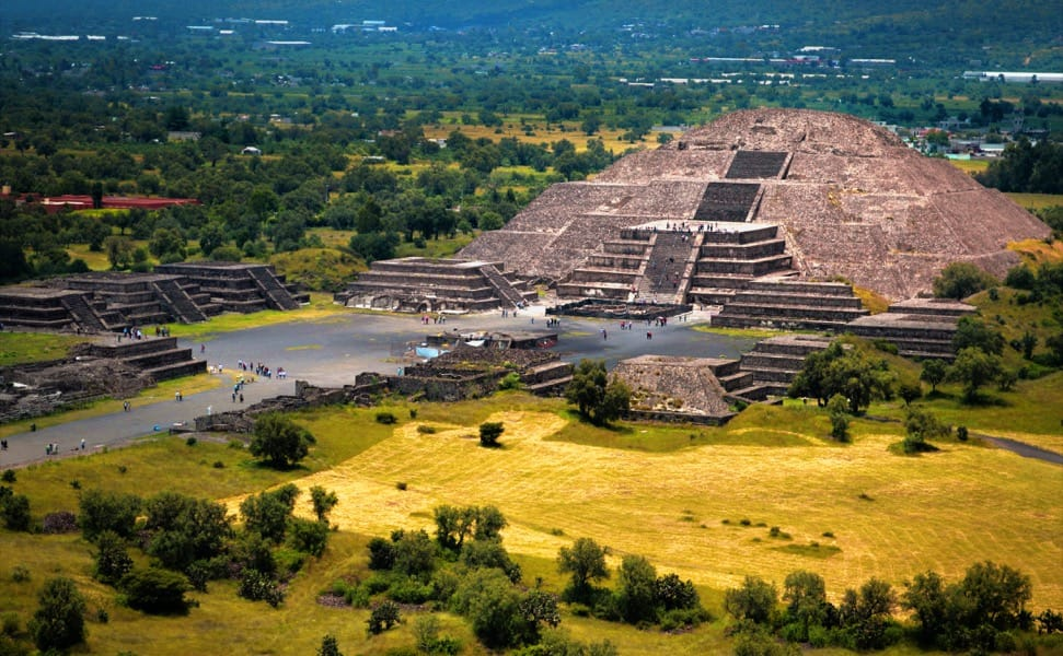Pyramid of the Moon in Teotihuacán
